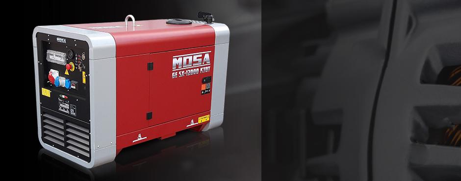 generadores 3000 rpm mosa motor kubota