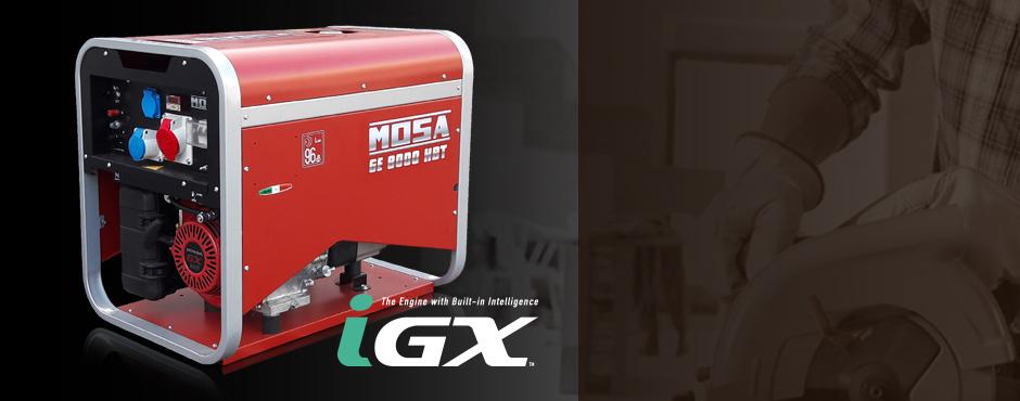generadores 3000 rpm gama s con avr y tecnologia iGX